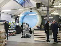 For the event the Chemoform AG has changed a hall of 350 square meters