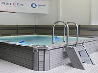 ZODIAC ORIGINAL and AZTECK pools, which are manufactured by the Chemoform AG in Buhl, were of special interest to our customers.