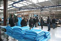 Chemoform AG will manufacture these pools in its pool production plant in the french town Buhl (here's a picture of the visit during the great pool expert show in late february 2014).