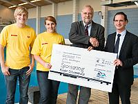 <strong>Donation to DLRG Wendlingen</strong></br>
